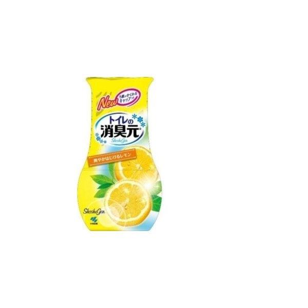 トイレの消臭元 爽やかはじけるレモン 400mL