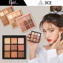 [3CE] ★2018 新商品★ シャドウパレット / MULTI EYE COLOR PALETTE/ALL NIGHTER /OVERTAKE/PLOT TWIST/ 韓国コスメ[itgir]