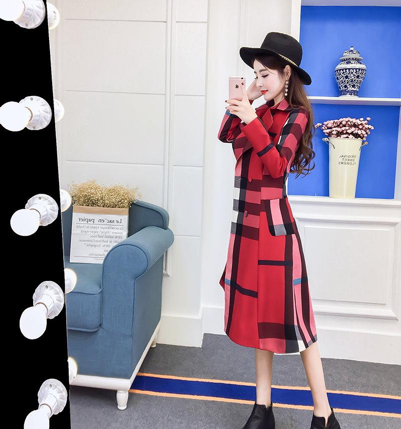 ★ ティベン・ニットフード、ロングコート / おしゃれなシルエットのファッションコーデー提案!ハイクォリティー/韓国ファッション/オフィス