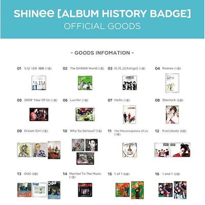 SHINee Debut 10th Anniversary Goods /1次予約/ 送料無料 2. NAME TAG /