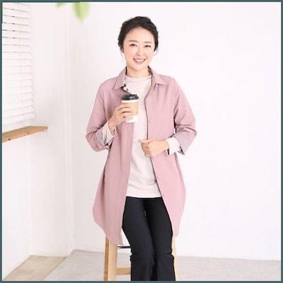 [マダムセンス]ママの服腰飛鳥サファリジャケットMO6805 /ジャケット/テーラードジャケット/韓国ファッション