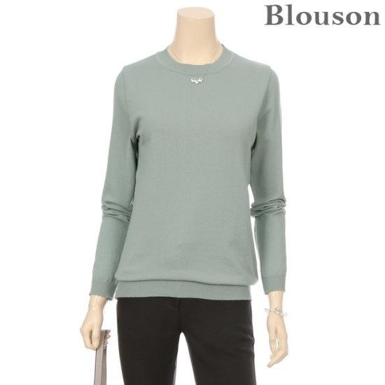 ブルルジョンブルルジョンソフトベーシックスプリングニットB1801KN009A ニット/セーター/ニット/韓国ファッション