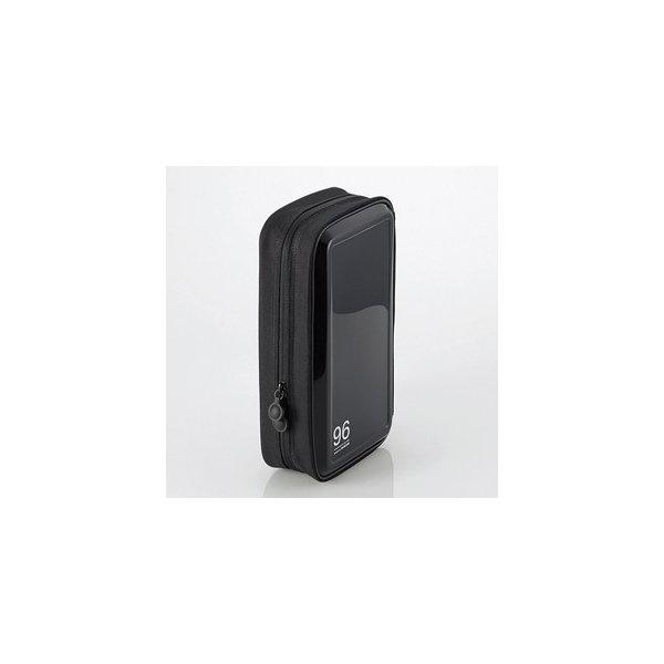 エレコム CCD-H96BK CD/DVDファスナーケース(96枚収納) ブラック