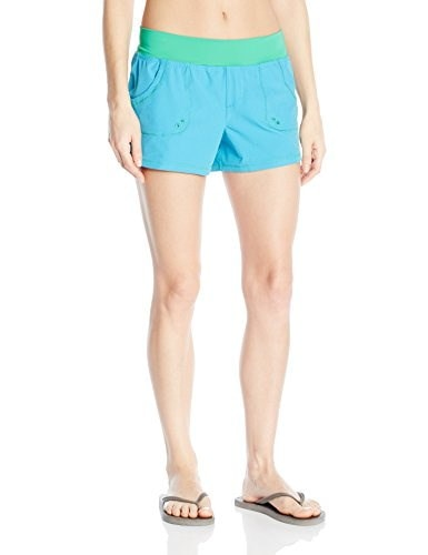 prAna Womens Millie Boardshorts, Vivid Blue, X-Small