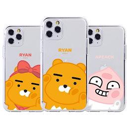 透明 iPhone13ProMax ケース クリア 韓国 フレンズ 正規品 あいくん ライアン
