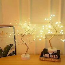 🌟人気新商品 最低価格🌟韓国 インテリア LEDライト クリスマス装飾 母の日プレゼント パールスターリーナイトライト ツリーライト USBポート36/108 LEDのLEDツリーライト テーブル
