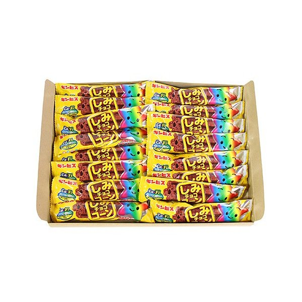 (全国送料無料)ギンビス しみチョココーン スティック 1本 16コ メール便 (4901588105438sx16m)
