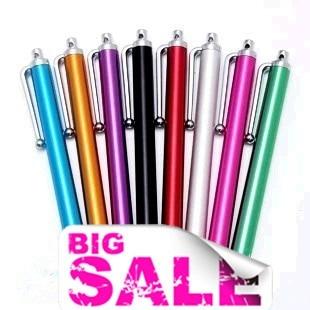 タッチペン 10色 各種スマホ、タブレットスマートフォン ボールペンiPod touch Xperia タブレット Tab用 2本以上ご購入の場合、ランダムで一本プレゼント!