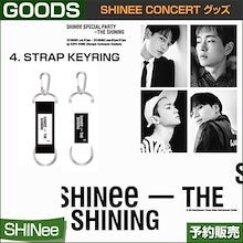 4. STRAP KEYRING / SHINee Special Party [The Shining] Official Goods /即日発送/送料無料