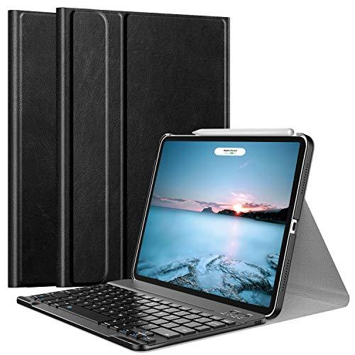 iPadAir4ケースRoyalAticiPadAir第4世代202010.9インチキーボード付きケースキーボードカバー着脱式オートスリープApplePencil2のペアリング&充電に対応スタンド機能