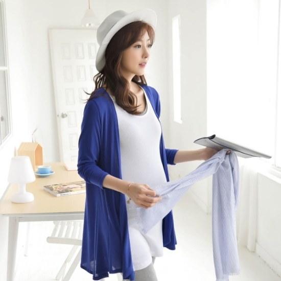 妊婦服・ドット・コムコースショールカディゴン ニット/セーター/ニット/韓国ファッション