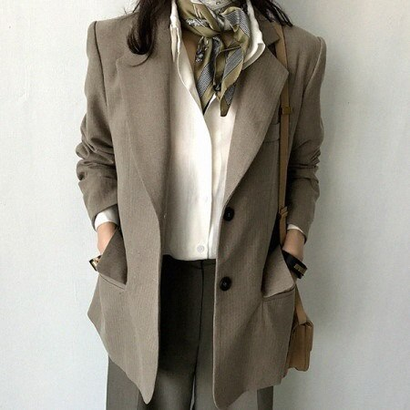 Trevia Jacket Korean Style