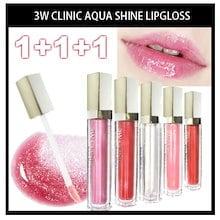 【3W CLINIC】【送料無料】★1+1+1★💋 3W クリニック アクア シャイン リップグロス 15色 リップスティック 8ml  3W CLINIC AQUA SHINE LIPGLOSS