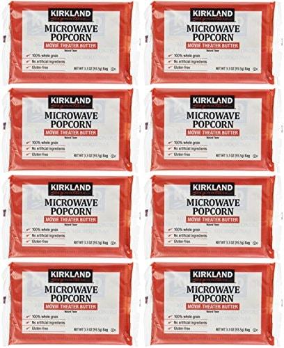 カークランド MICROWAVE ポップコーン 8袋