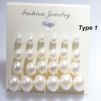 ファッション女性のピアスを設計する12ペアのCruncherデザイン