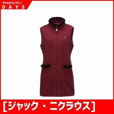 [ジャック・ニクラウス]女性ポイントミンクウルニトゥベスト(LWVAW18021REX) /ベスト/チョッキ/韓国ファッション