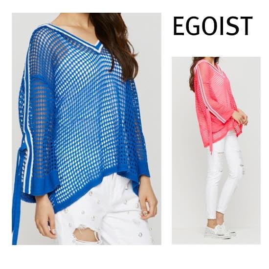のエゴイストマッシュフードニットEH2KL561 ニット/セーター/韓国ファッション