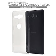 ded29aa13a 送料無料□Xperia XZ2 Compact SO-05K ハード クリア ケース カバー