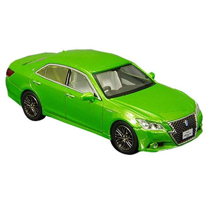 ENIF 1/64 トヨタ クラウン アスリート S 2015 若草色 完成品 ENIF60006