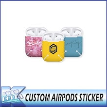 【送料無料】 CUSTOM AIRPODS STICKER / YG/BIGBANG/SEUNGRI/SECHSKIES/IKON/WINNER/BLACKPINK/JENNIE
