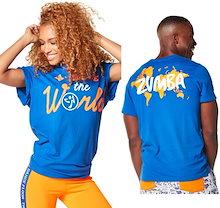 新着アイテム ZUMBA(ズンバ) LOVE Tシャツフィットネスウェア ダンスウェア ヨガウェア トレーニングウェア Z1T043