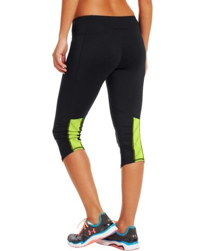 Under Armour Womens HeatGear® ArmourVentTM Capri Large Black