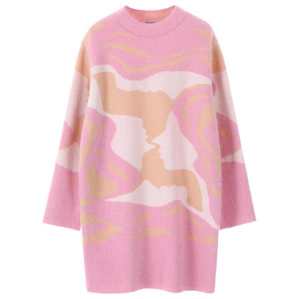 [韓国直送] 【オンエンオン] color mix pattern knit NK7WP465