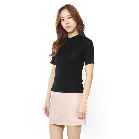 ルシャプLeShop半そでソリッドニットプルオーバーLH4KP811 ニット/セーター/韓国ファッション