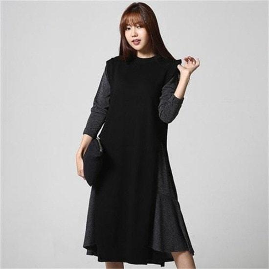 ・ジュード・ヴィヴィアン行き来するように・ジュード・ヴィヴィアンの横向いたロング・ニット ニット/セーター/ニット/韓国ファッション
