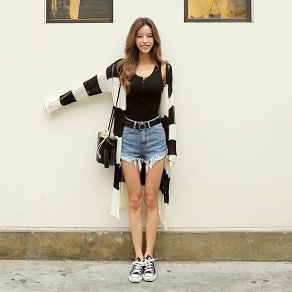 チェンジカディゴン 女性ニット/カーディガン/韓国ファッション