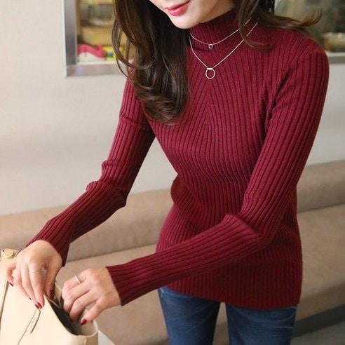 【ClicknFunny]セピン葉段ボールニットKN2816ニットkorea fashion style free shipping