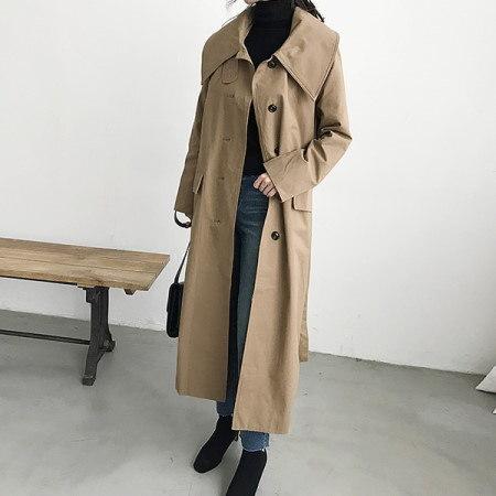 Keol Trench Coat Korean Style