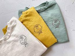 2020年春の新しい子供服、男の子と女の子の韓国のシンプルでかわいいヘッドコットンTシャツ、カジュアルトップ