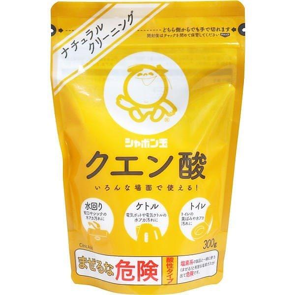 【送料無料】シャボン玉石けん シャボン玉 クエン酸 300g