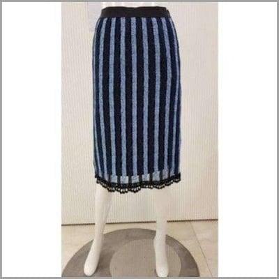 [エイビエプジ]エイビエプジレース配色バンディングスカート(AJS4SS02H) スカート/ミニスカート/ 韓国ファッション