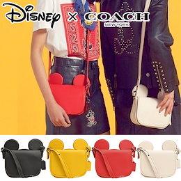 a6de3e55b3e7 【ミッキー型ショルダーバッグ 】ユッキーナも愛用♥ Disney×COACH コラボ商品!
