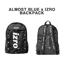 韓国好きならみんな持っているリュック*ALMOST BLUE x IZRO BACKPACK*送料無料、即日発送!EXO愛用/韓国ファッションブランド