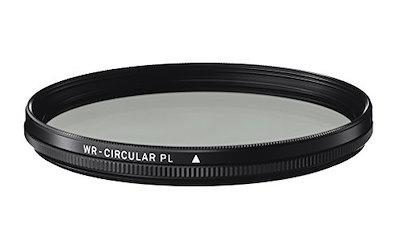 SIGMA カメラ用フィルター WR CIRCULAR PL 49mm 円偏光 撥水 930769