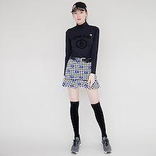 韓国女性ゴルフ衣類ブランド Chrisbany ゴルフウェア レディース ゴルフ スカート スポーティー 無地 可愛い ミニスカート