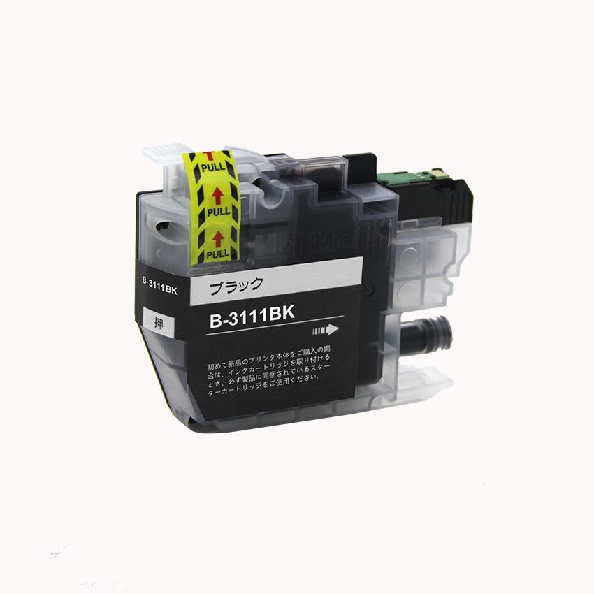 LC3111BK 単品 ブラック BR社 プリンター用互換インク ICチップ付 残量表示