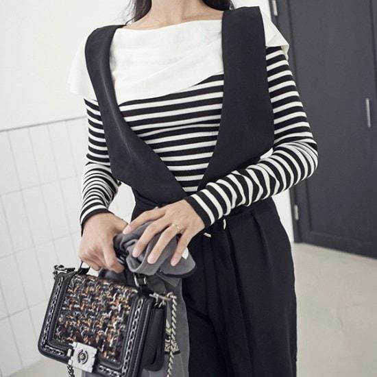 ブルランチョニットシャツts01651 ニット/セーター/ニット/韓国ファッション