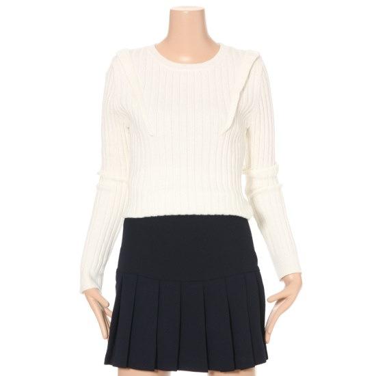 ルシャプLeShopフリルポイントニートLG3KP118 ニット/セーター/韓国ファッション