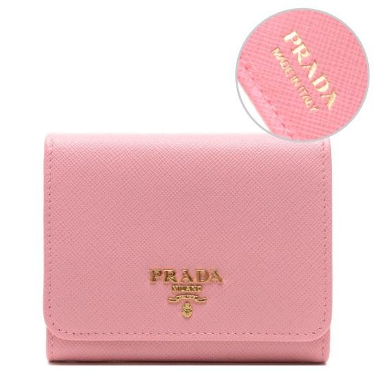 e7ca1c76f8a7 [プ ラ ダ][ユニコ]17FWの女性レタリングのロゴ3段財布(1MH176QWAF04421 財布/レディース財布/ベルト/財布/韓国ファッション