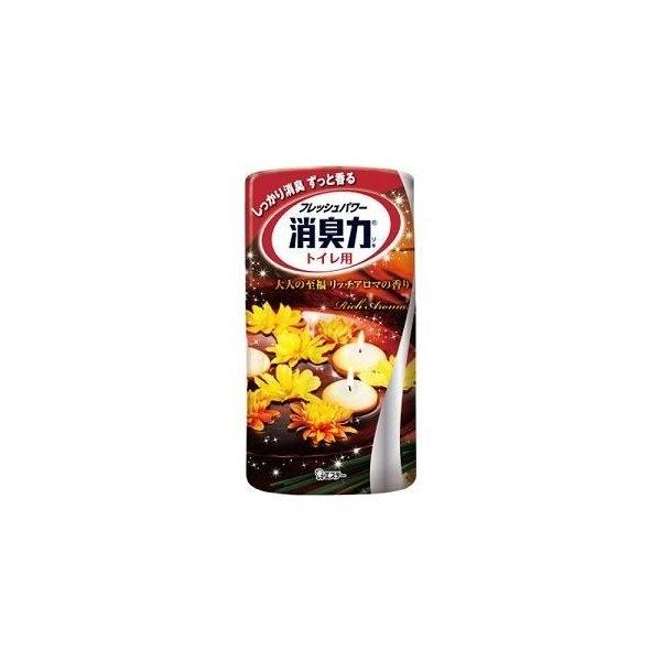 消臭力 トイレ用 大人の至福 リッチアロマの香り 400mL 製品画像