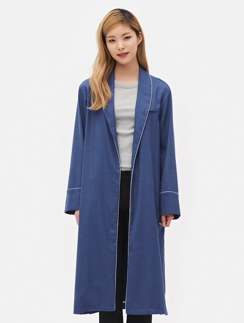 8SECONDS Robe Sailored Jacket - Blue