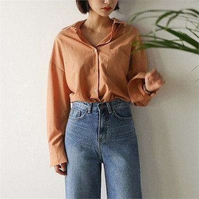 basic color point shirts new 女性ブラウス/シャツ/その他/韓国ファッション