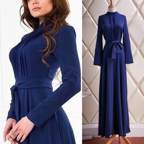 レディースファッション秋冬編みスウェットドレス女性のためのパーティードレスプラスサイズ