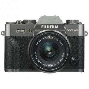 FUJIFILM X-T30 15-45mmレンズキット [チャコールシルバー]