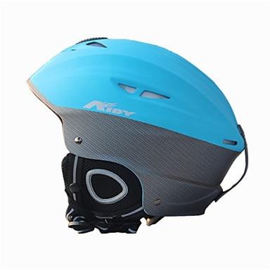 AIDY®ヘルメットユニセックススノースポーツヘルメットウルトラライト(UL)/スポーツスポーツヘルメットブルースノーヘルメットCE EN