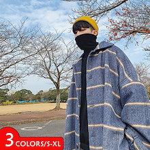 韓国ファッション  oversize   メンズファッション  ラシャ コート冬新作  厚い暖かいメンズコート冬服